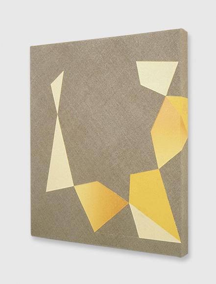 Kim Fisher  Study for Gemstone #003 (Golden Beryl)  2000 Oil on linen 16h x 14w in