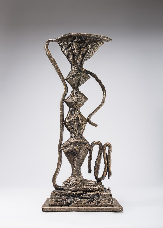 William J.O'Brien  Untitled  2017 Bronze 28h x 13w x 7d in WOB1181