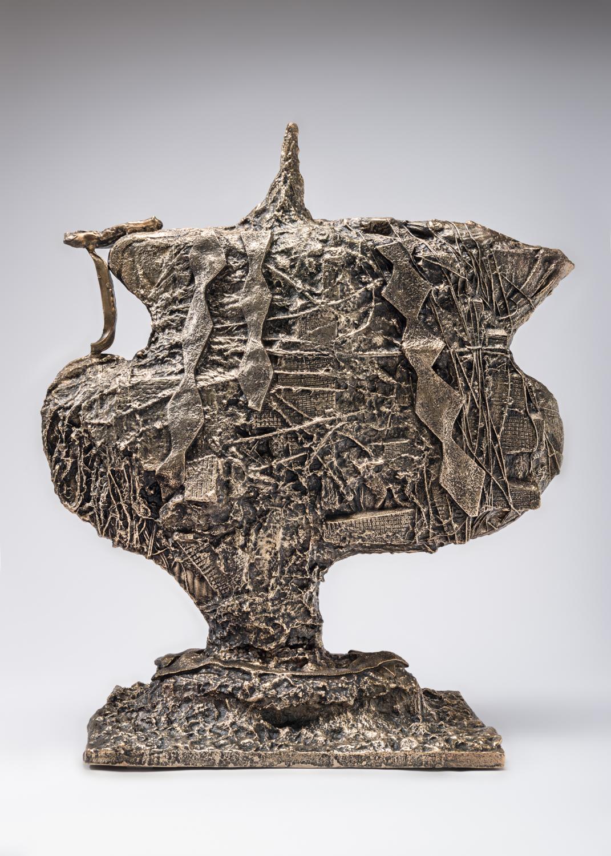 William J.O'Brien  Untitled  2017 Bronze 27h x 24w x 10d in WOB1179