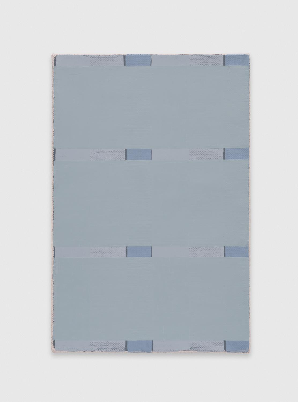 YuiYaegashi  scrape  2018 Oil on canvas 13 1/4h x 8 1/4w in YY129