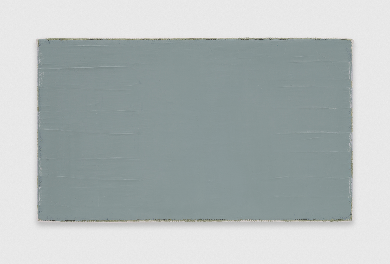 YuiYaegashi rectangle  2018  Oil in canvas 5 1/2h x 9 1/2w in YY122