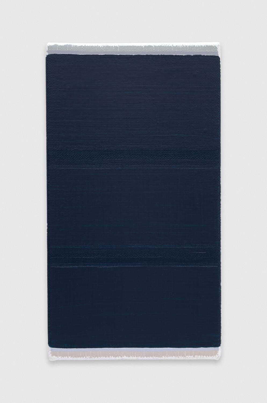 YuiYaegashi  ravine  2018 Oil on canvas 8 3/4h x 4 3/4w in YY118