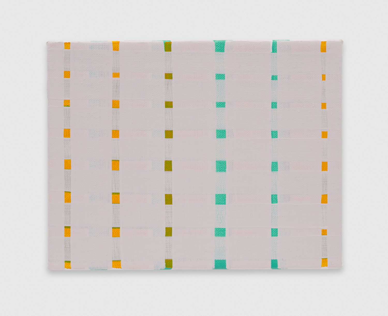 YuiYaegashi  dull yellow  2018 Oil on canvas 5 1/2h x 7w in YY114