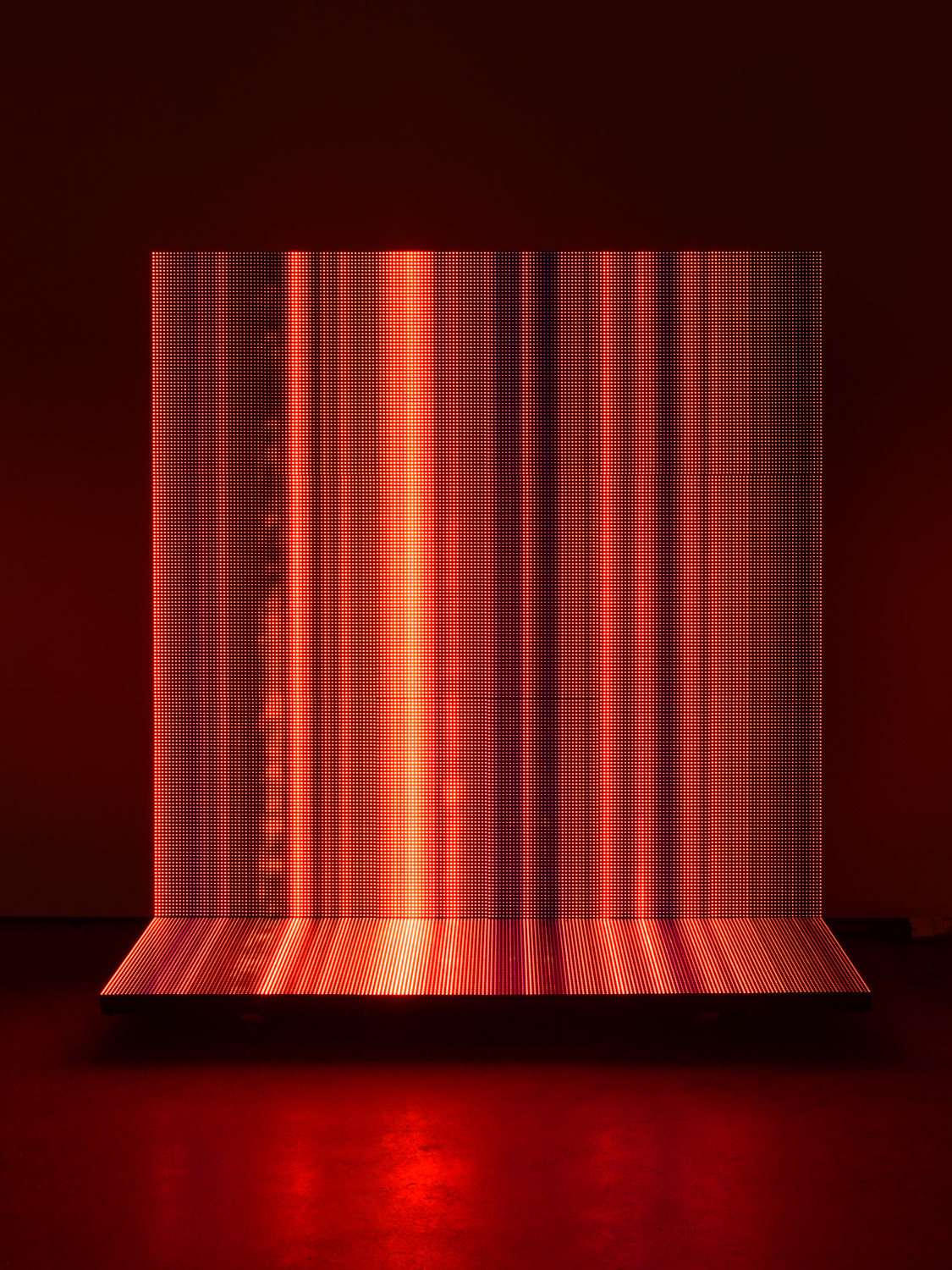 LukeMurphy  FirePlace  2019 P4 LED Matrix Panels, animation code, mini-PC running Linux, power supplies, aluminum, wire or MDF armature. Technical: Python3 scripts and software, Gigabyte brand i3 mini-PC, running Lubuntu Linux, Linsn receiver card, sender card, 5v 40A 125/220v AC power supplies 32 1/2h x 30 1/4w x 15d in LMurph003