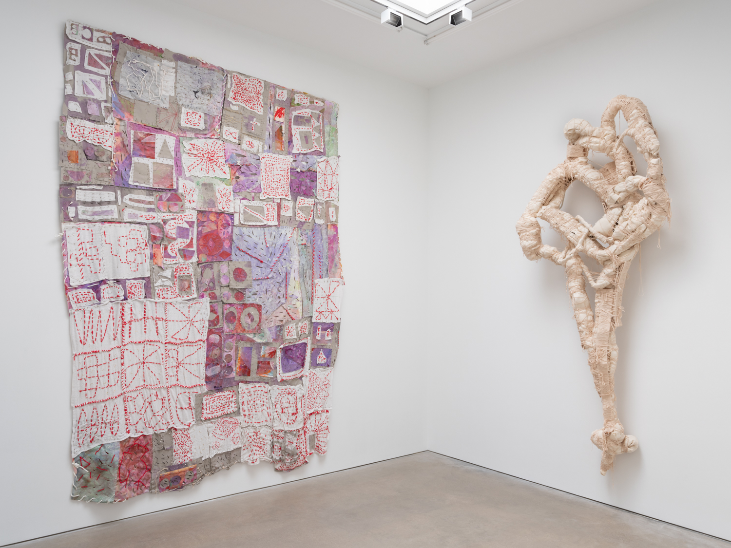 William J. O'Brien transitional objects Installation view Shane Campbell Gallery