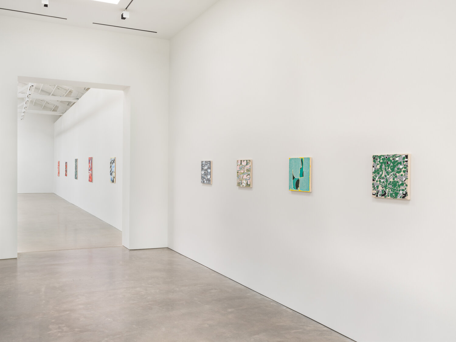 Zak Prekop  Installation view Shane Campbell Gallery, Chicago