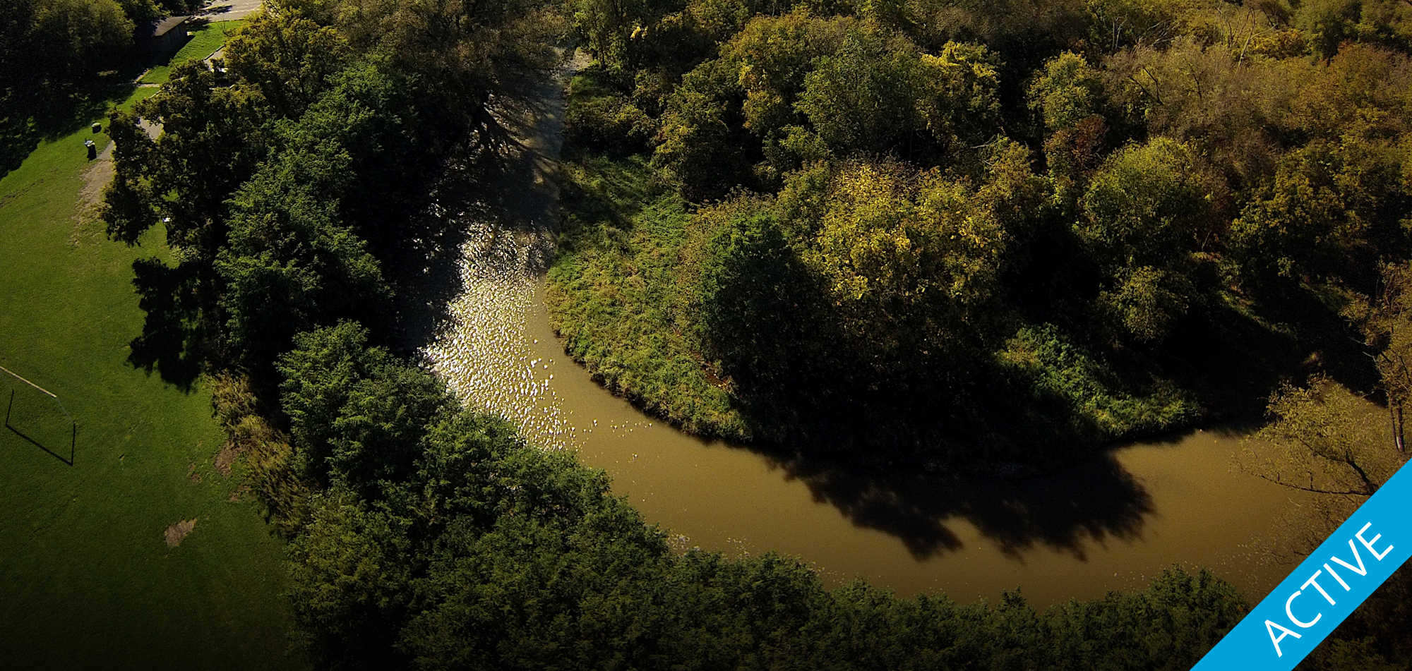 Line 9 crosses the Humber River in northwestern Toronto. Photo by Dylan Neild.