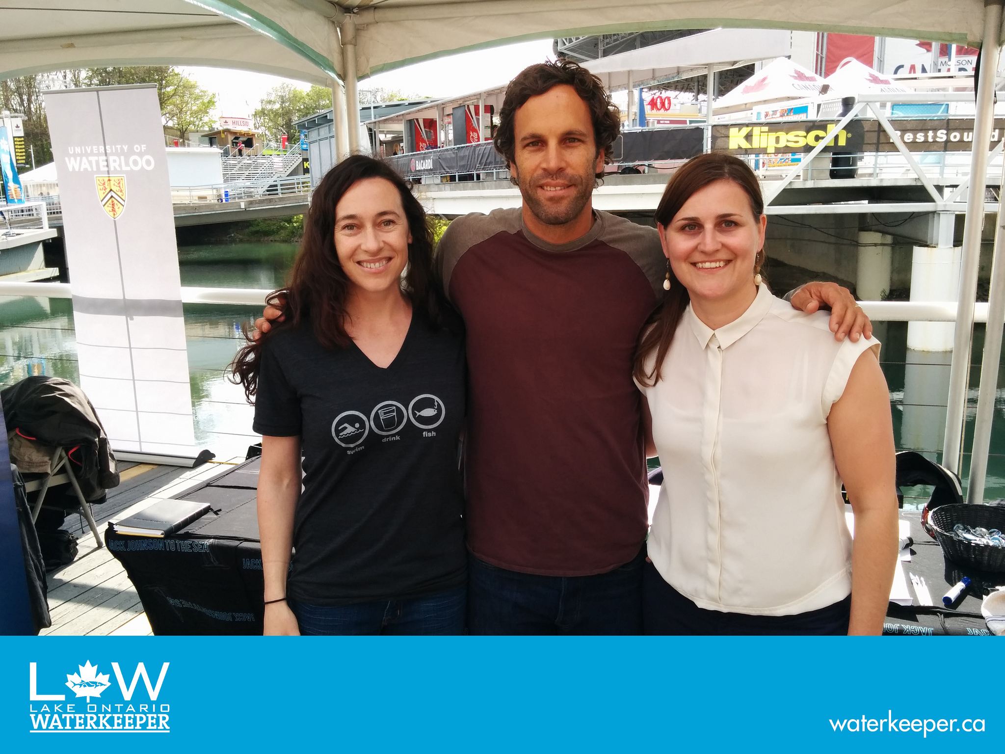 See why music-lovers are also water-lovers.Click the photo for more images from the Jack Johnson concert in May, 2014.