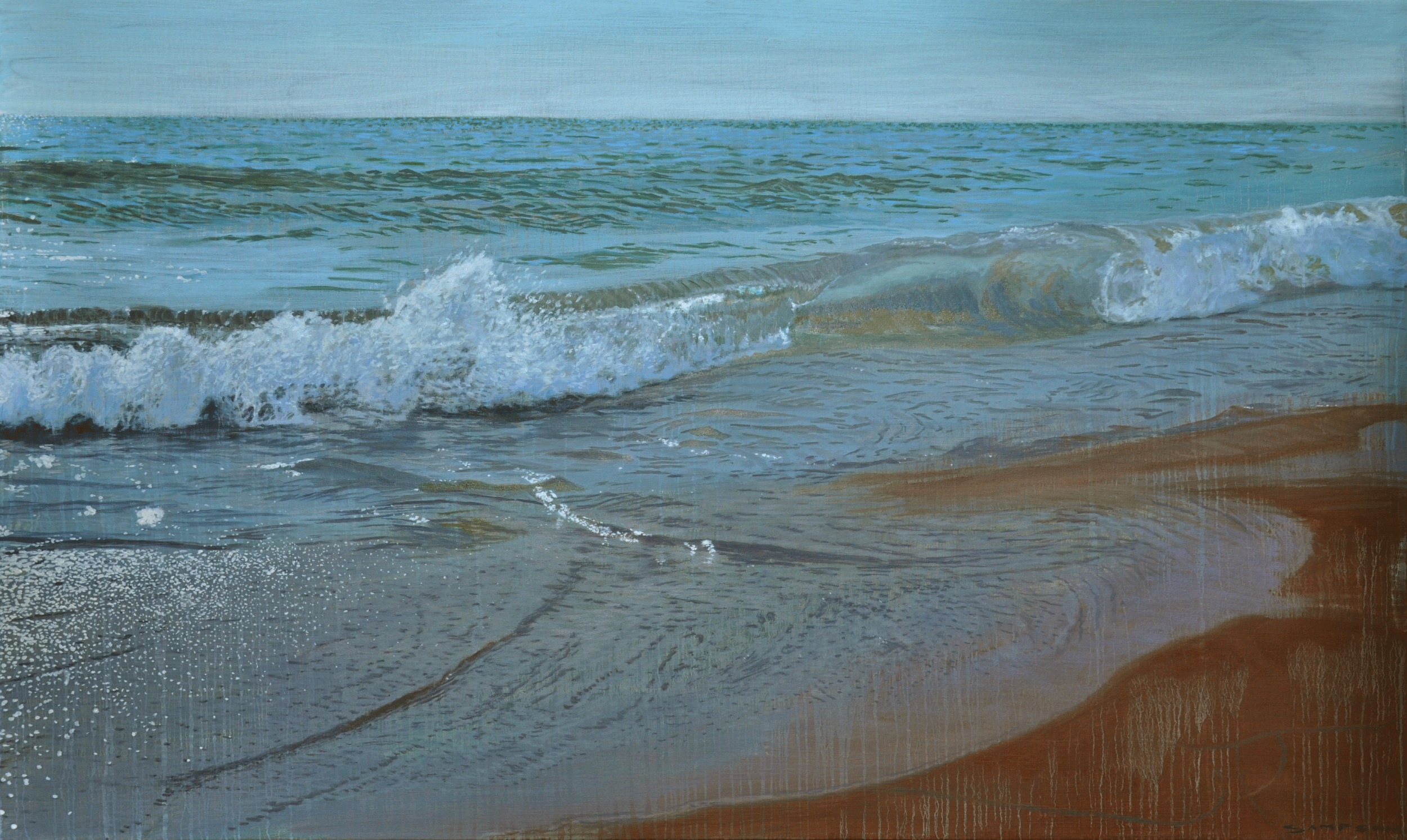 "Joe Sampson,  ""Beach Break"""