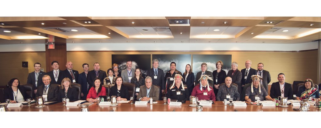 The first Great Lakes Guardian Council. (Photo via the Ontario Ministery of the Environment and Climate Change)
