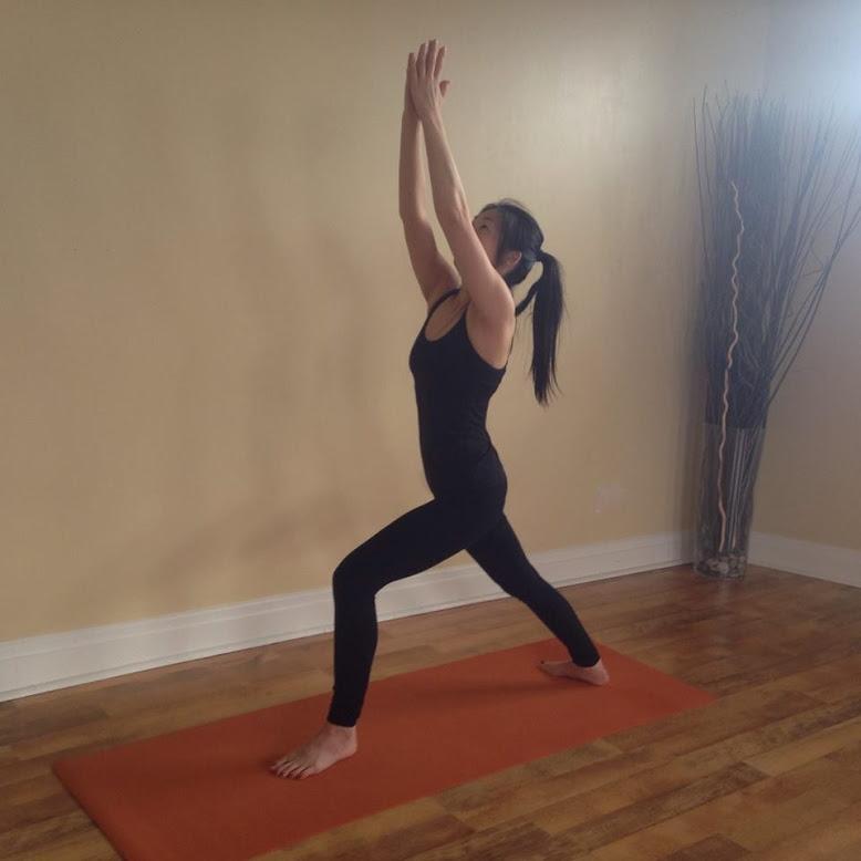 Yoga instructor,Vivian Wong. (Image via Loren King)