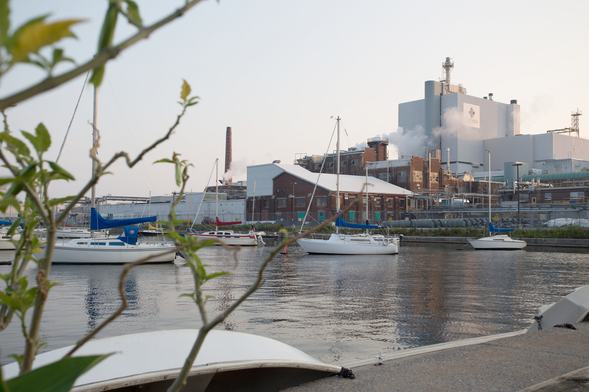 Cameco's conversion facility in Port Hope. (Photo by Dylan Neild)