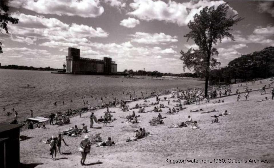 Kingston waterfront, 1960. Queen's Archives. [Blog Photo].jpg