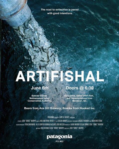 Artifishal - Patagonia Toronto - Lake Ontario Waterkeeper - Swim Drink Fish - Hooked Inc..png