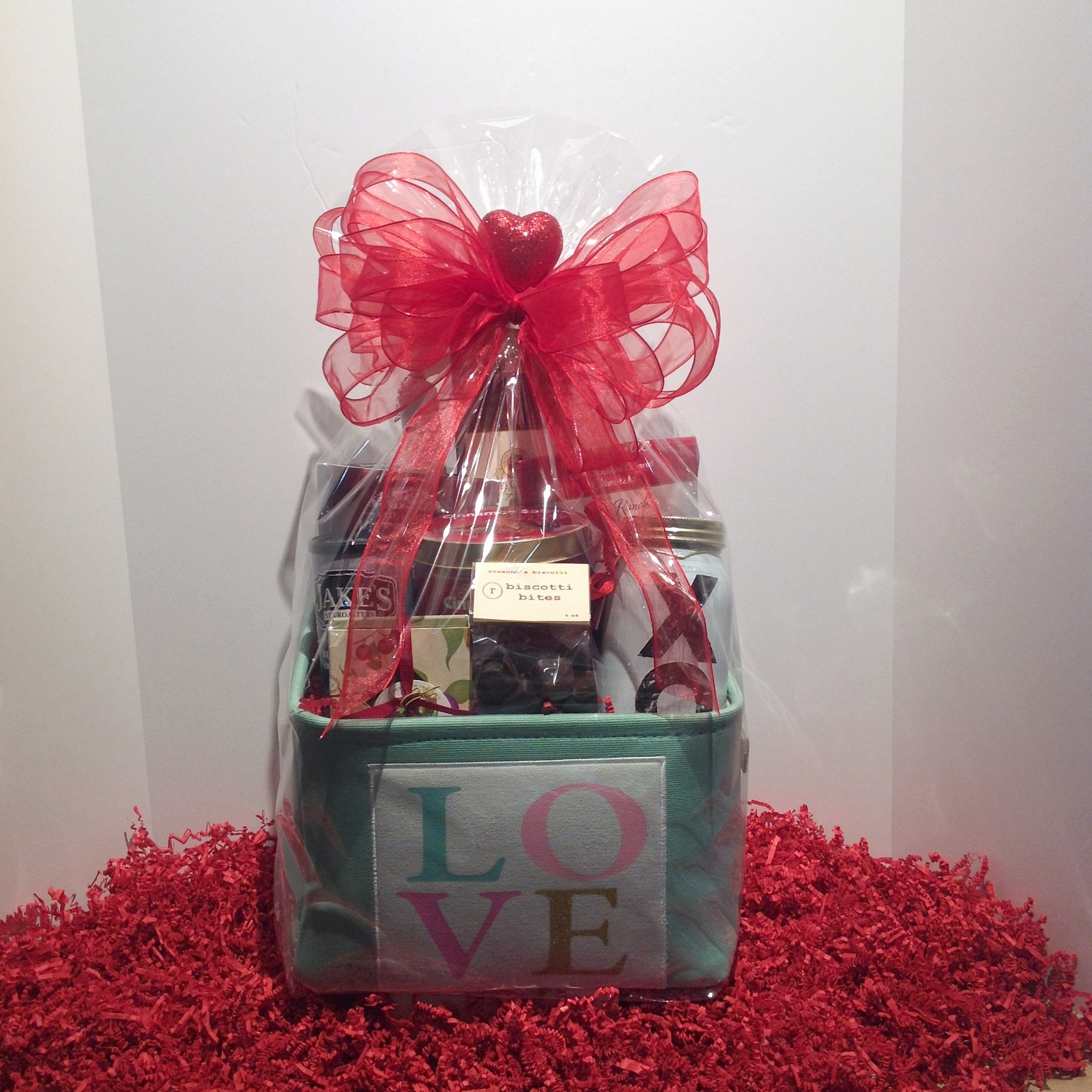 Enter To Win This Valentine S Day Gift Basket From Present Present Los Altos