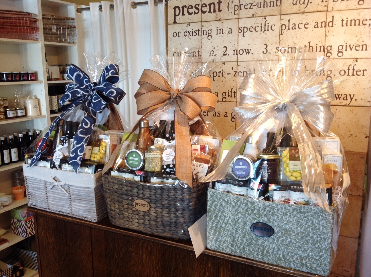 Present Gift Baskets Hand Delivered