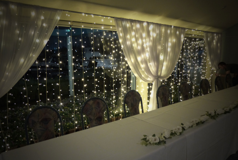 Then add some fairy lights.....