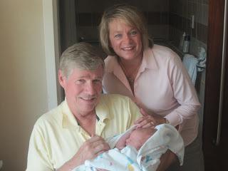 Grandpa Denny and Grandma Lynnette, my mom