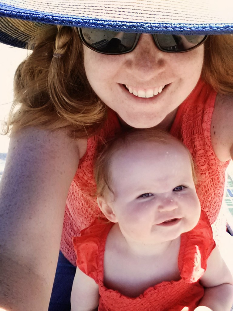 Carolyn and Her Beautiful Daughter .. oh I miss summer!