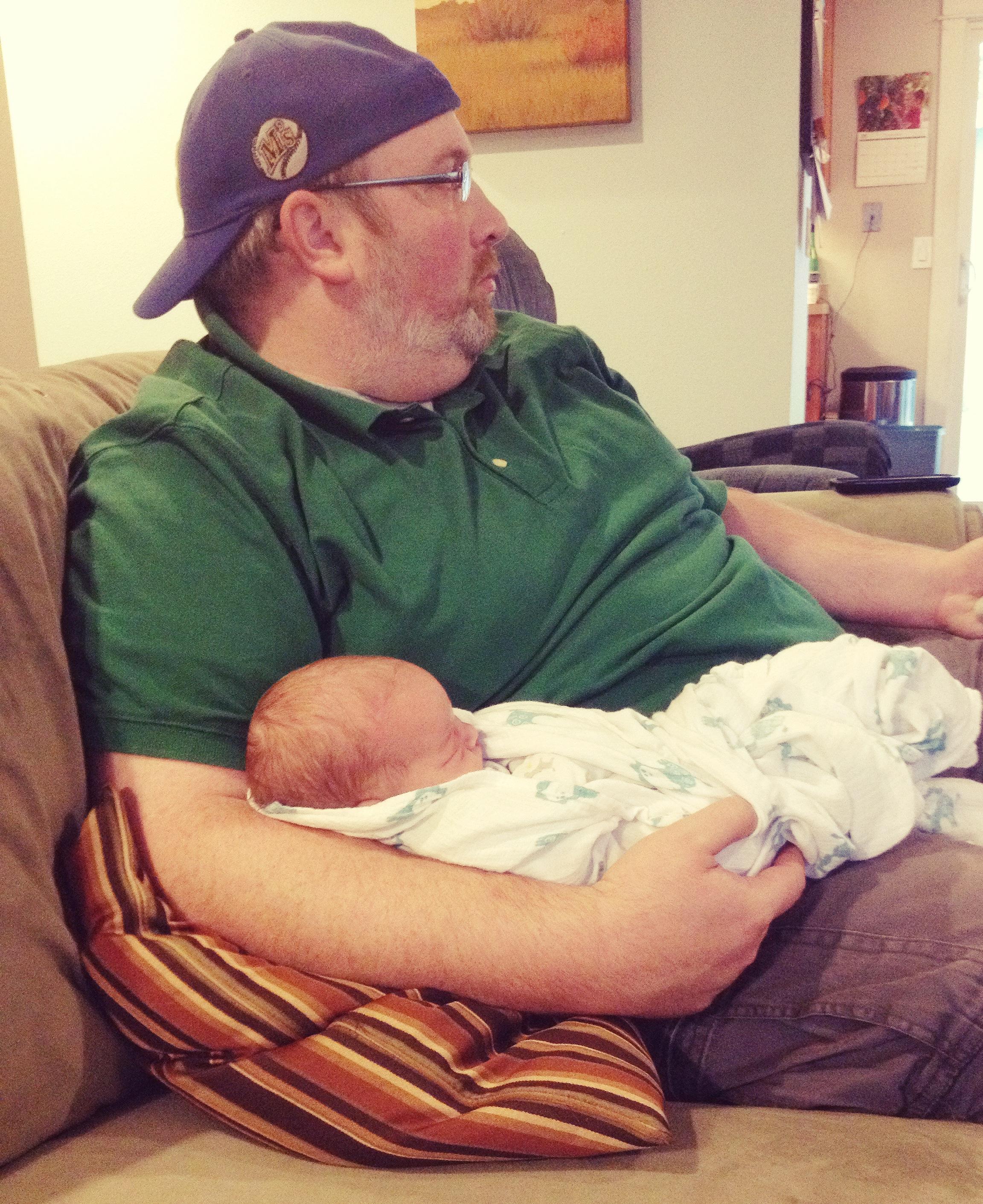 Doing paternity leave like a boss