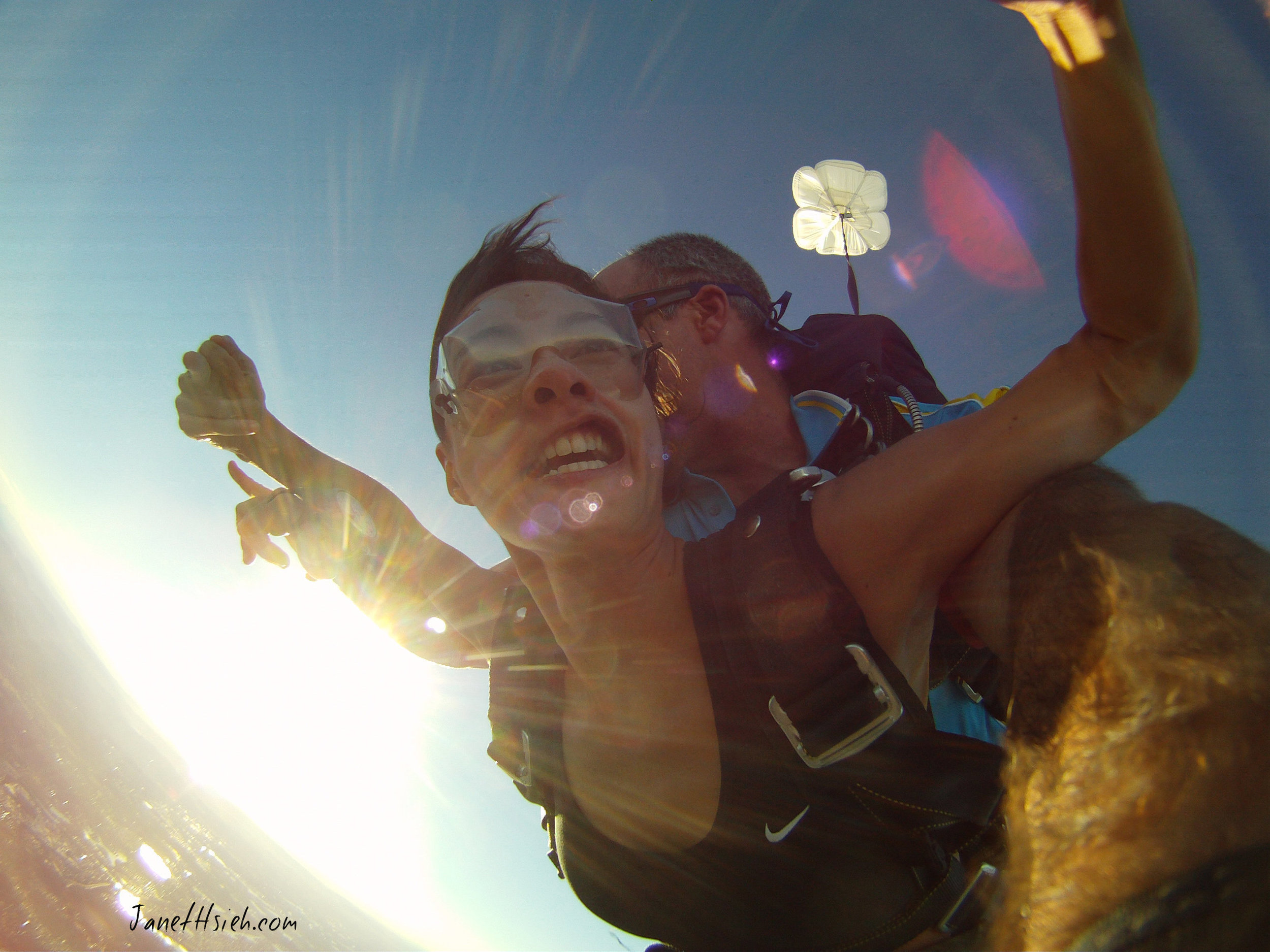 Skydiving - one of my many loves