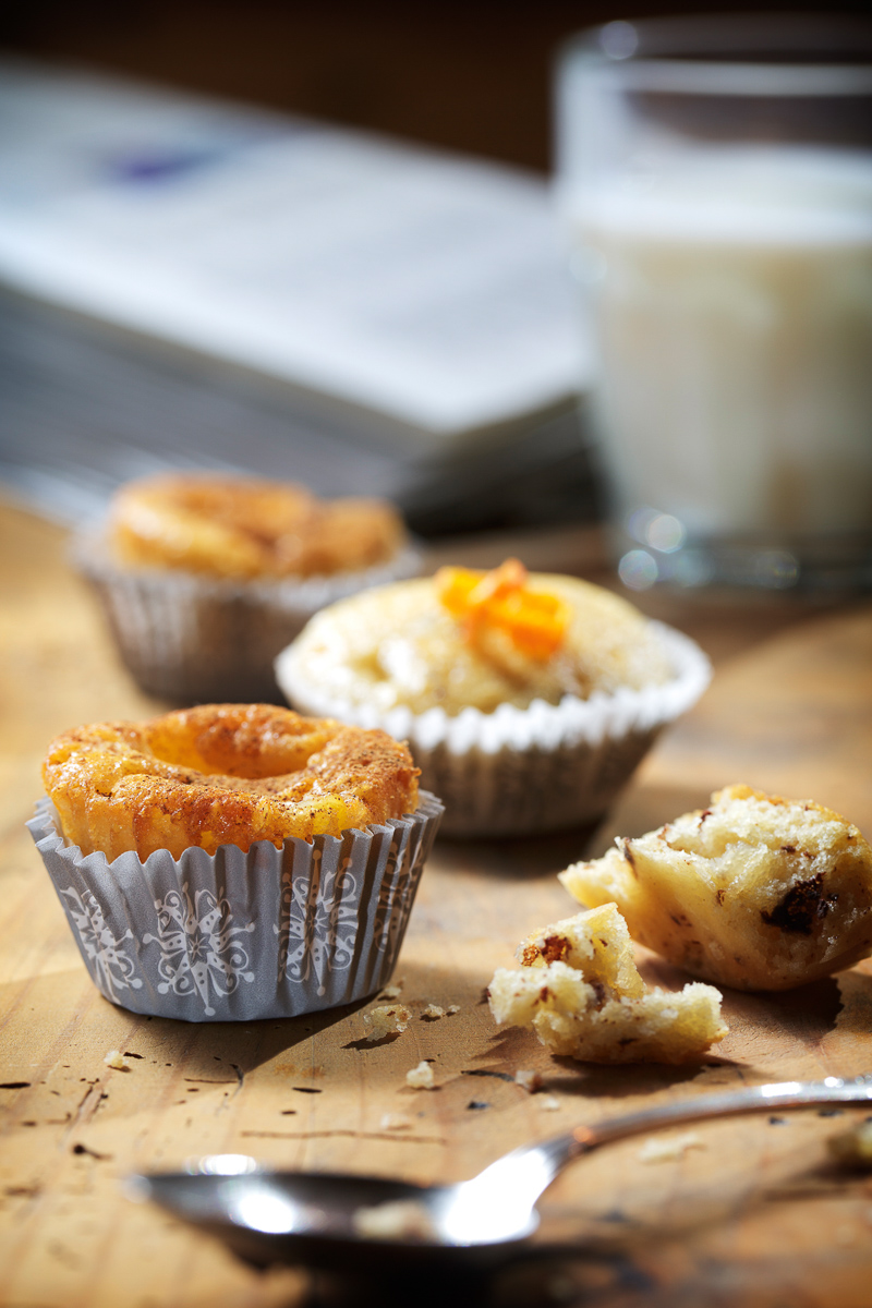 Food photography Trentino Alto Adige foto Andrea Giacomelli muffin