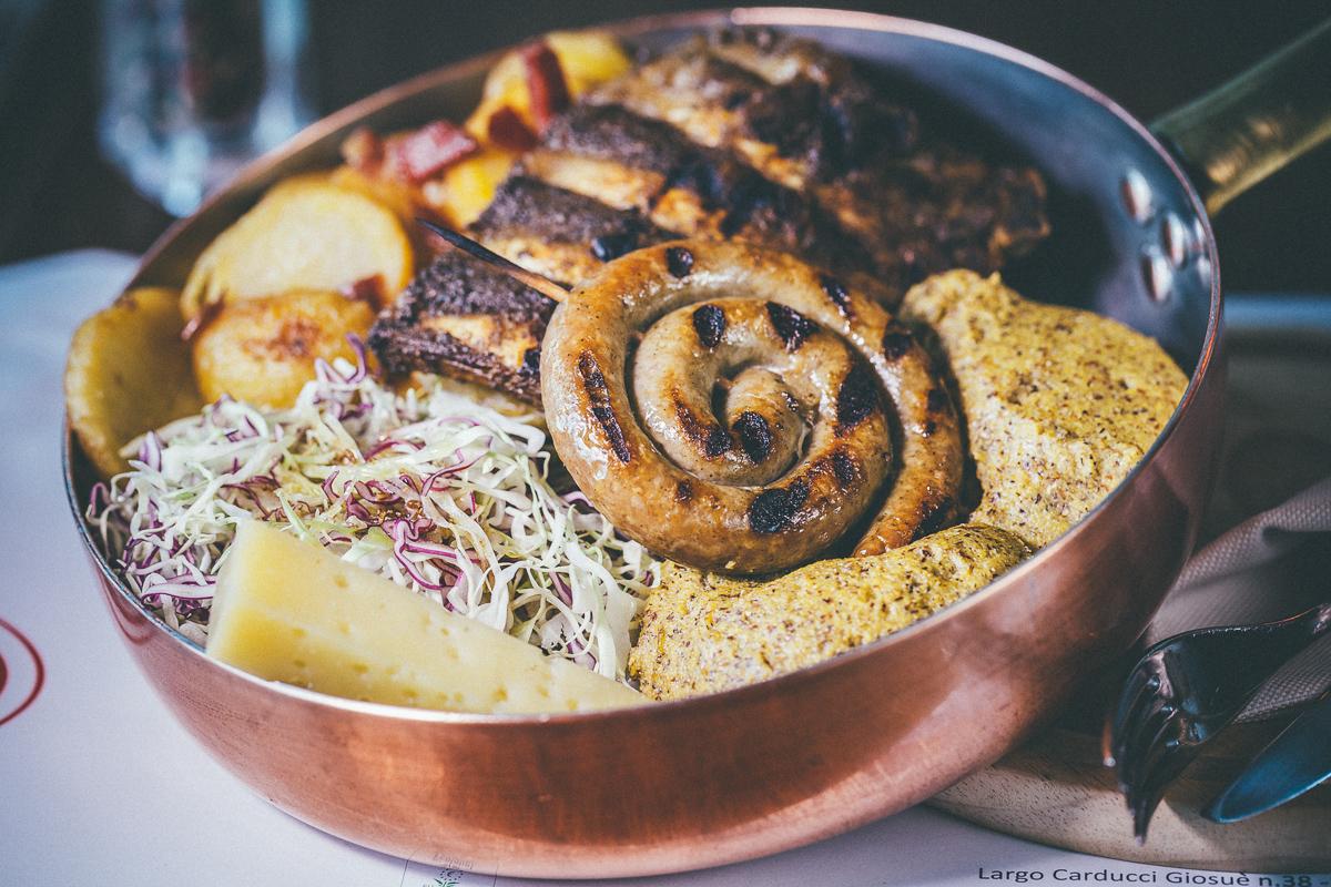 Food photography Trentino Alto Adige foto Andrea Giacomelli loto polenta