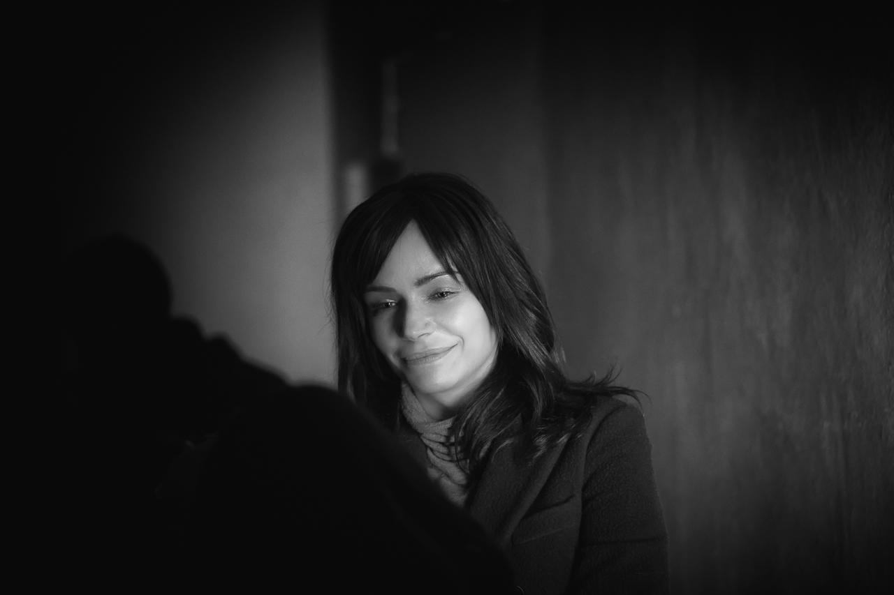 Francesca Neri, protagonista femminile del film