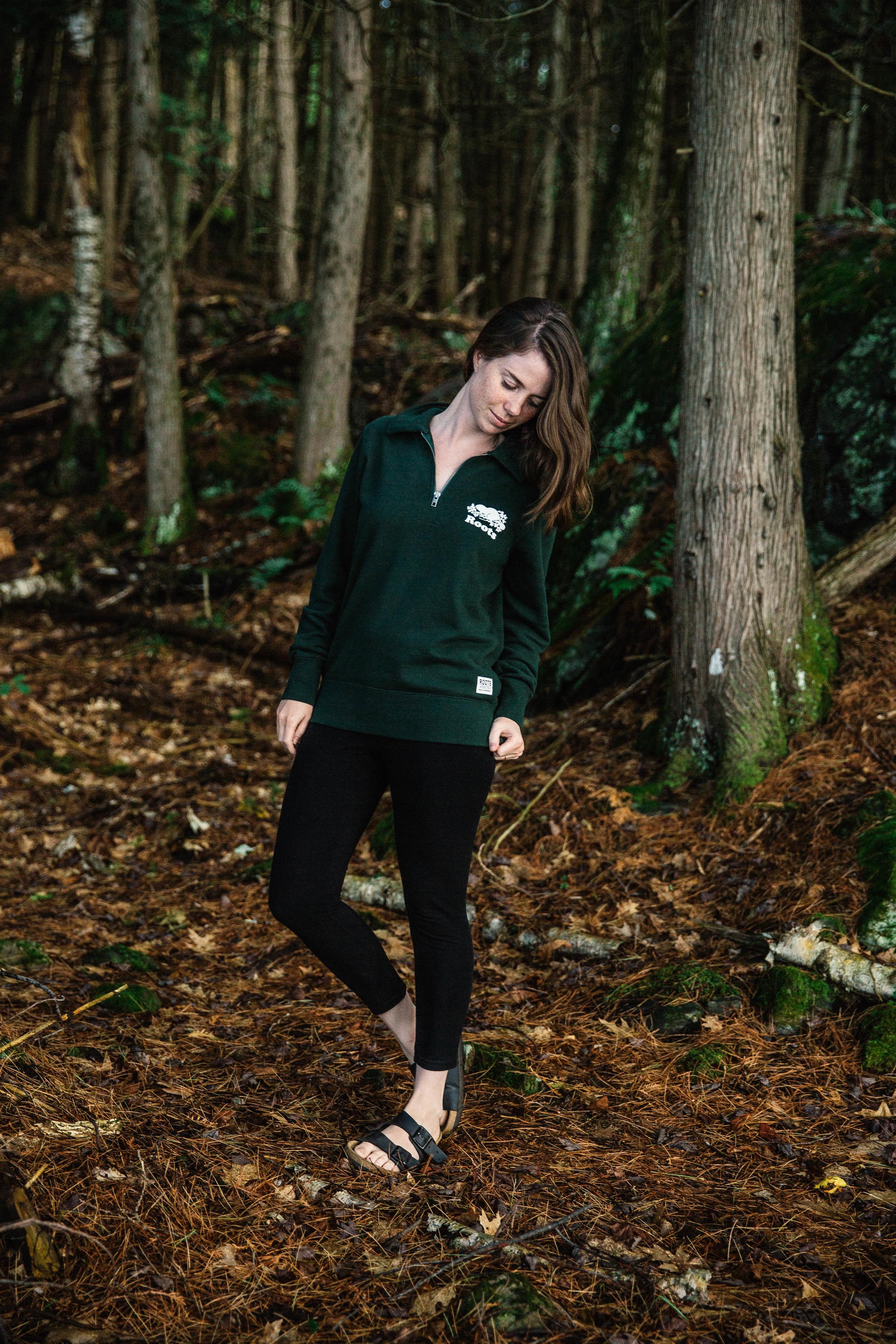 Freya Dowson of Nishaantishu.com for Roots Canada