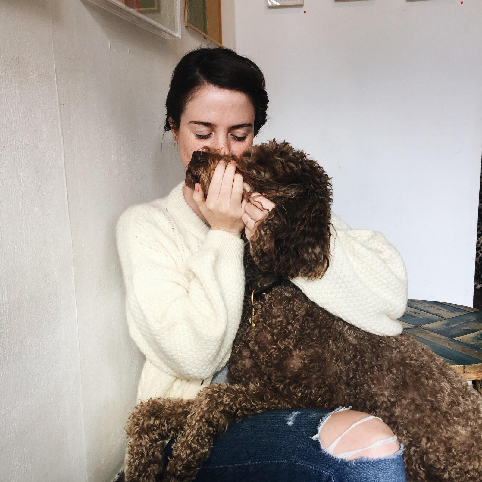 hug your dog every day