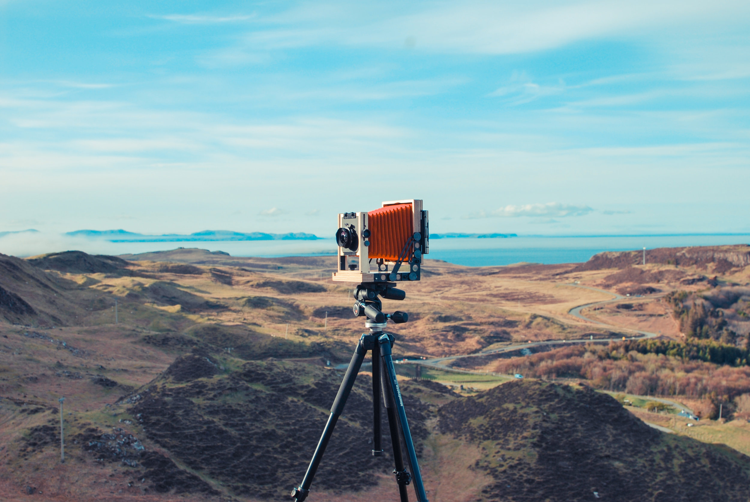 My new camera - The Intrepid 4x5