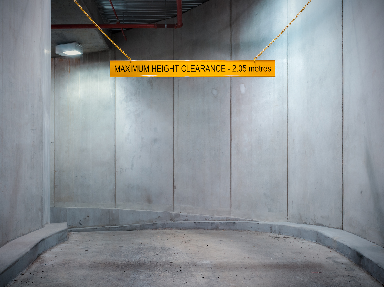 Subterranean Parking Entrance (2013)
