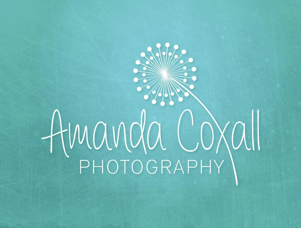 Amanda Coxall Photography | Logo Design by Corinne Jade