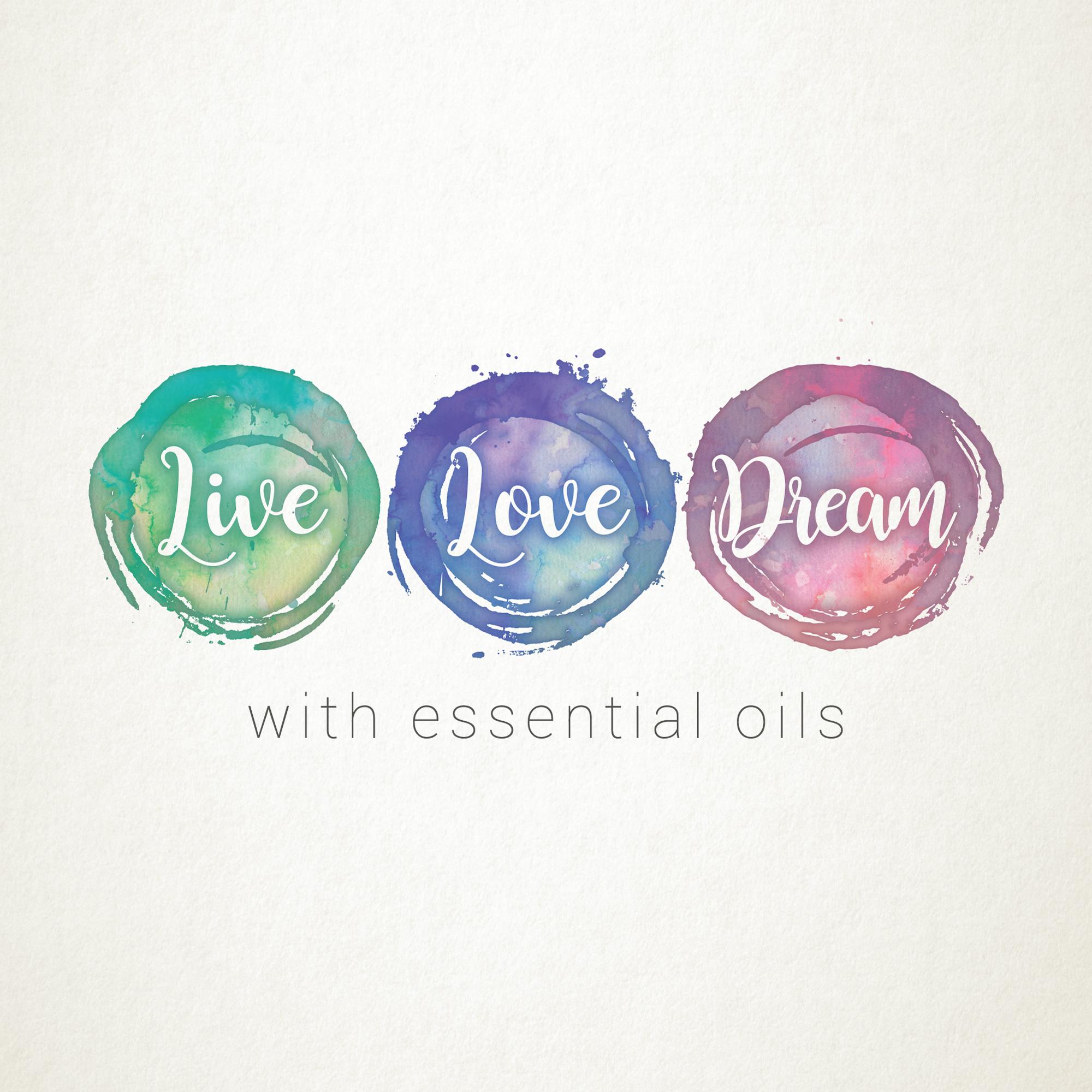 Live Love Dream | Logo Design by Corinne Jade