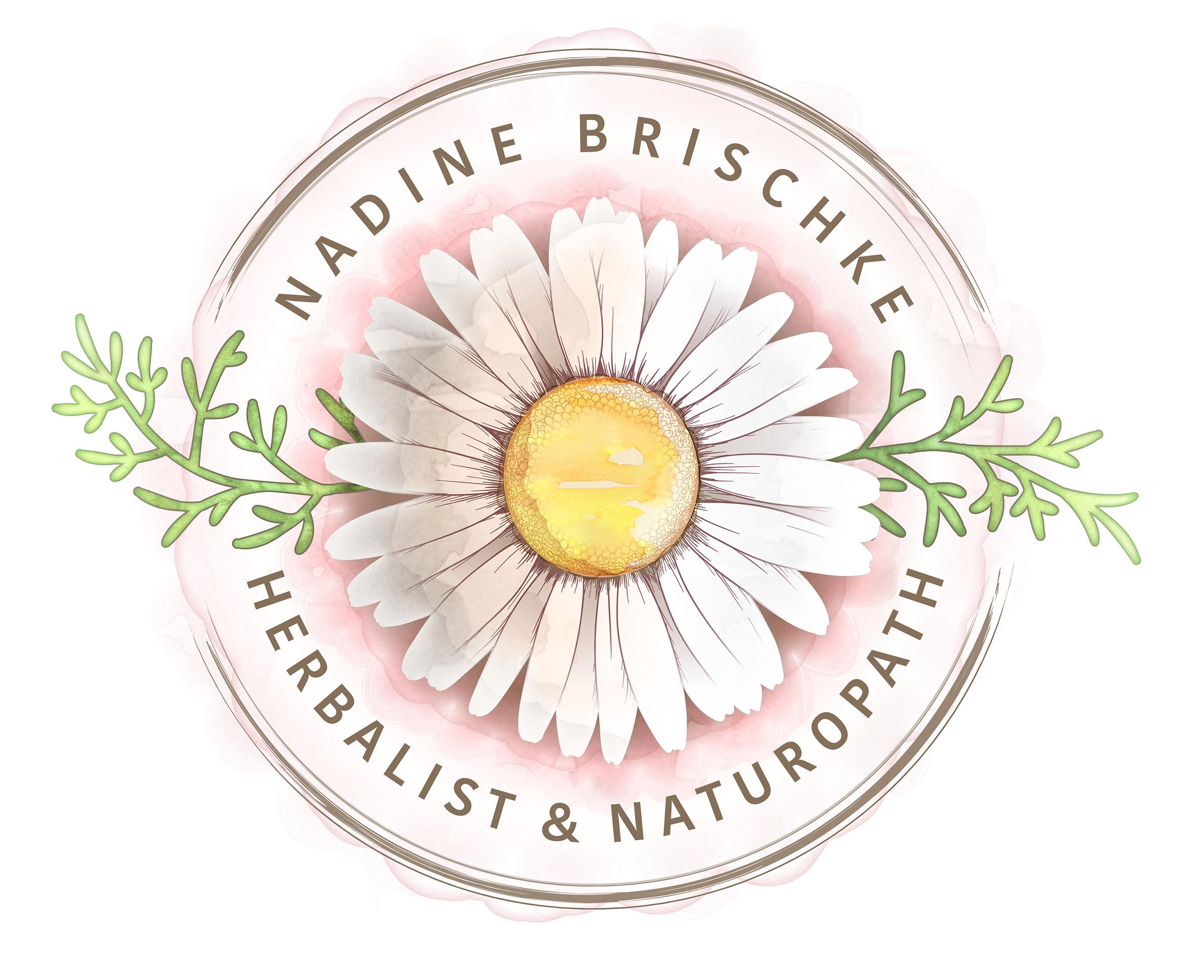 Nadine Brischke Logo Design by Corinne Jade