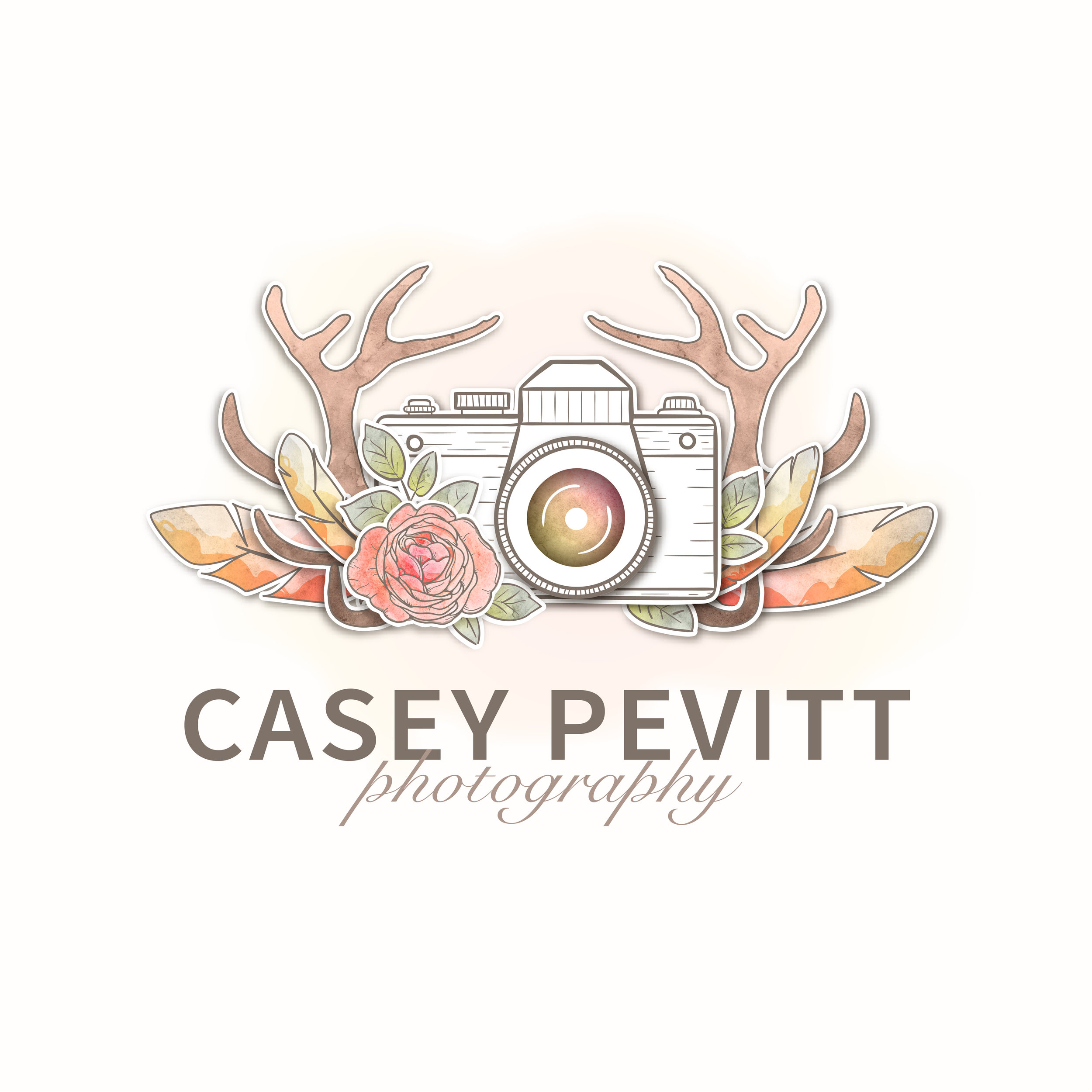 Casey Pevitt Photography | Logo Design by Corinne Jade
