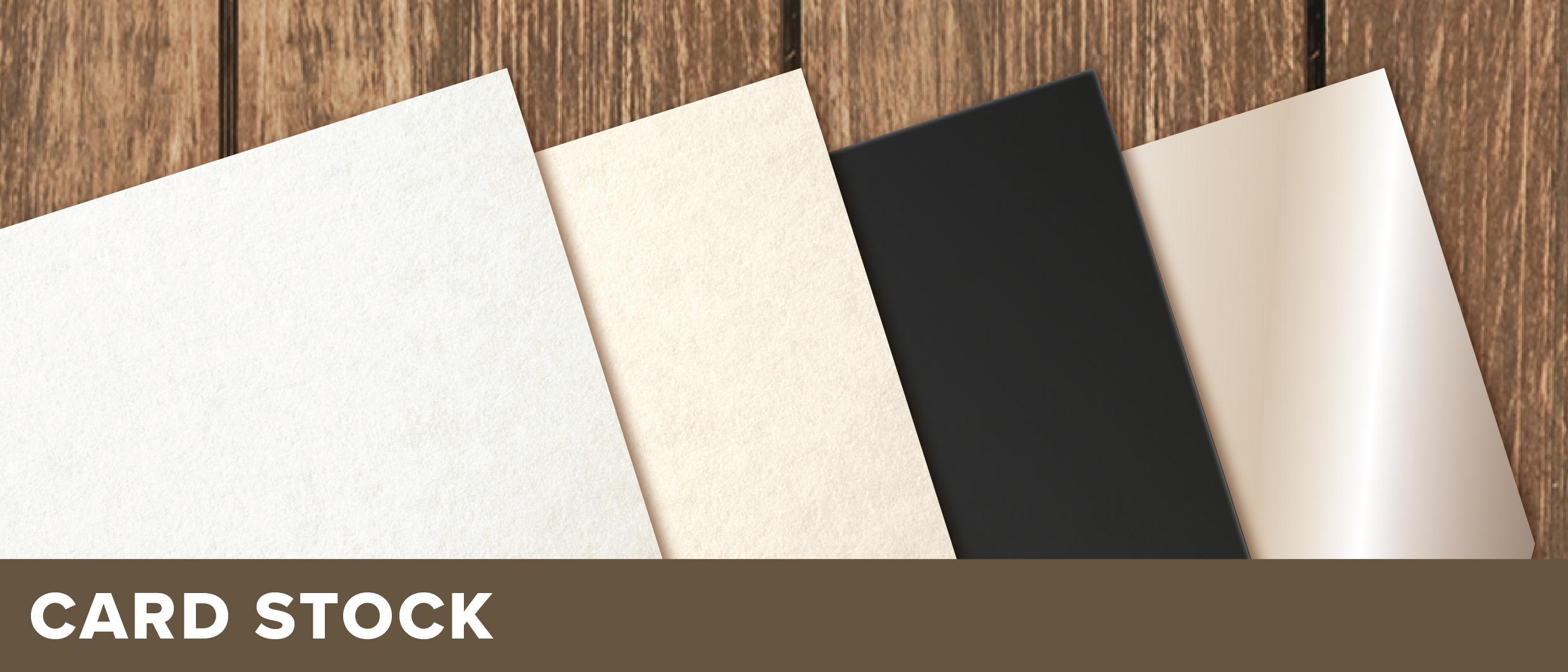 White, Recycled, Blackboard or Metallic