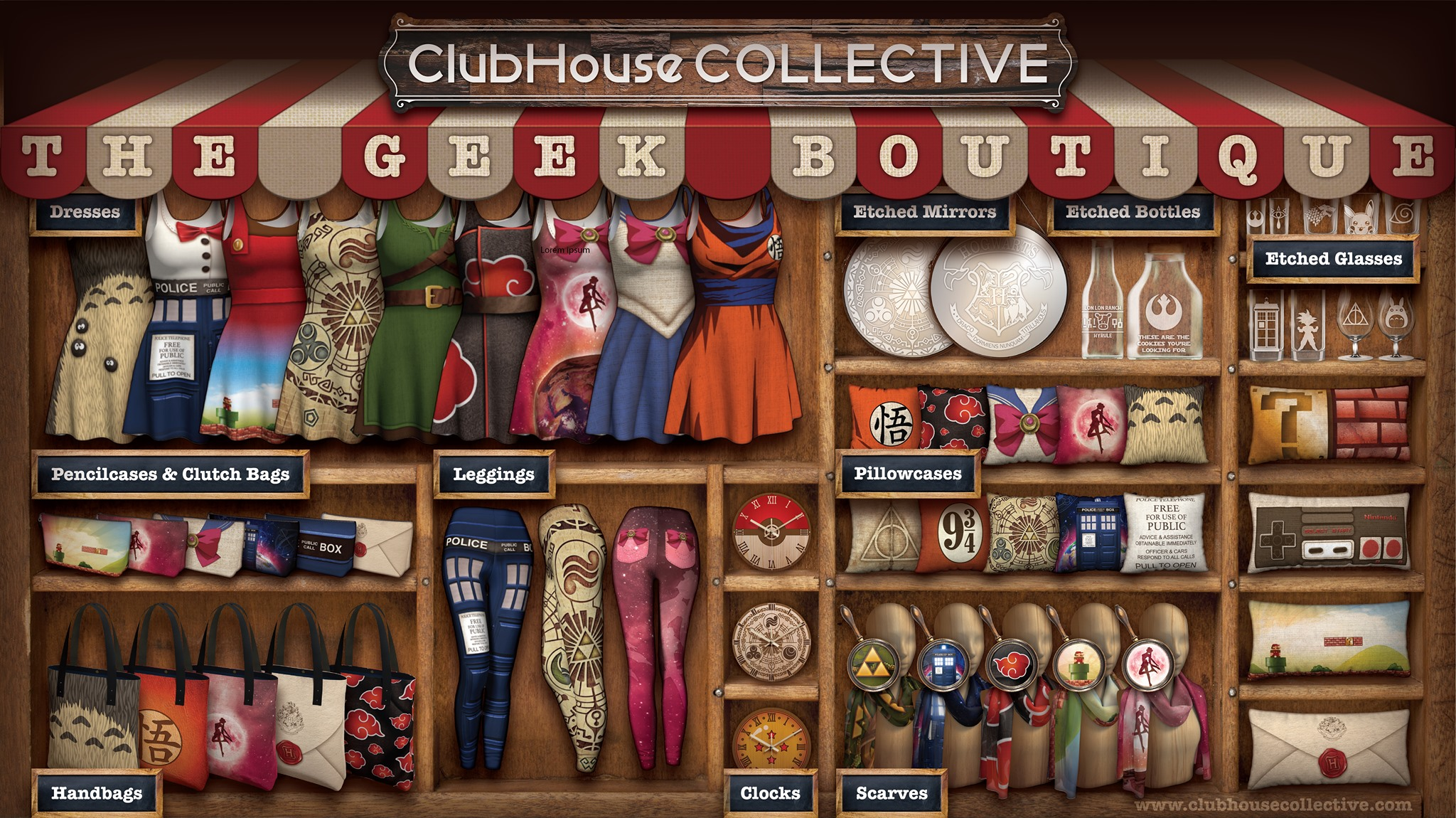 Geek Boutique. ~ Corinne Jade, ClubHouse Collective