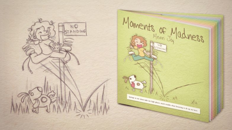 """""""Moments of Madness"""" Illustrated by Corinne Jade, ClubHouse Collective"""