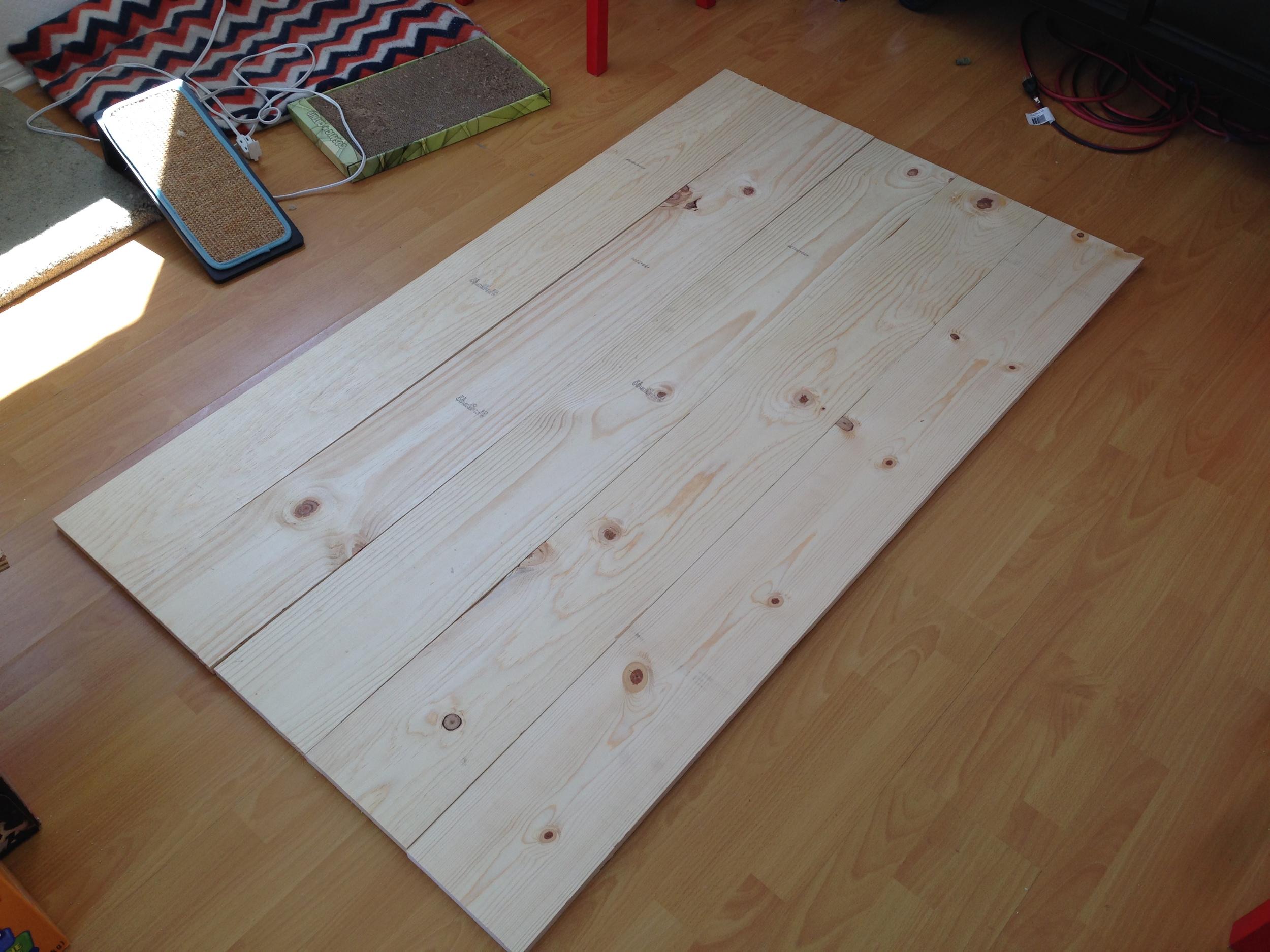 Fresh boards