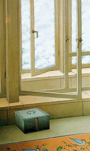 Untitled - San titre, 1995, 80x60cm, oil on canvas - huile sur toile, sold - vendu