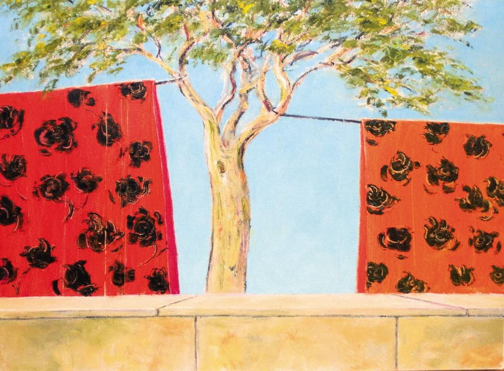 Untitled - San Titre, 2003, 40x50cm, oil on canvas - huile sur toile, sold - vendu