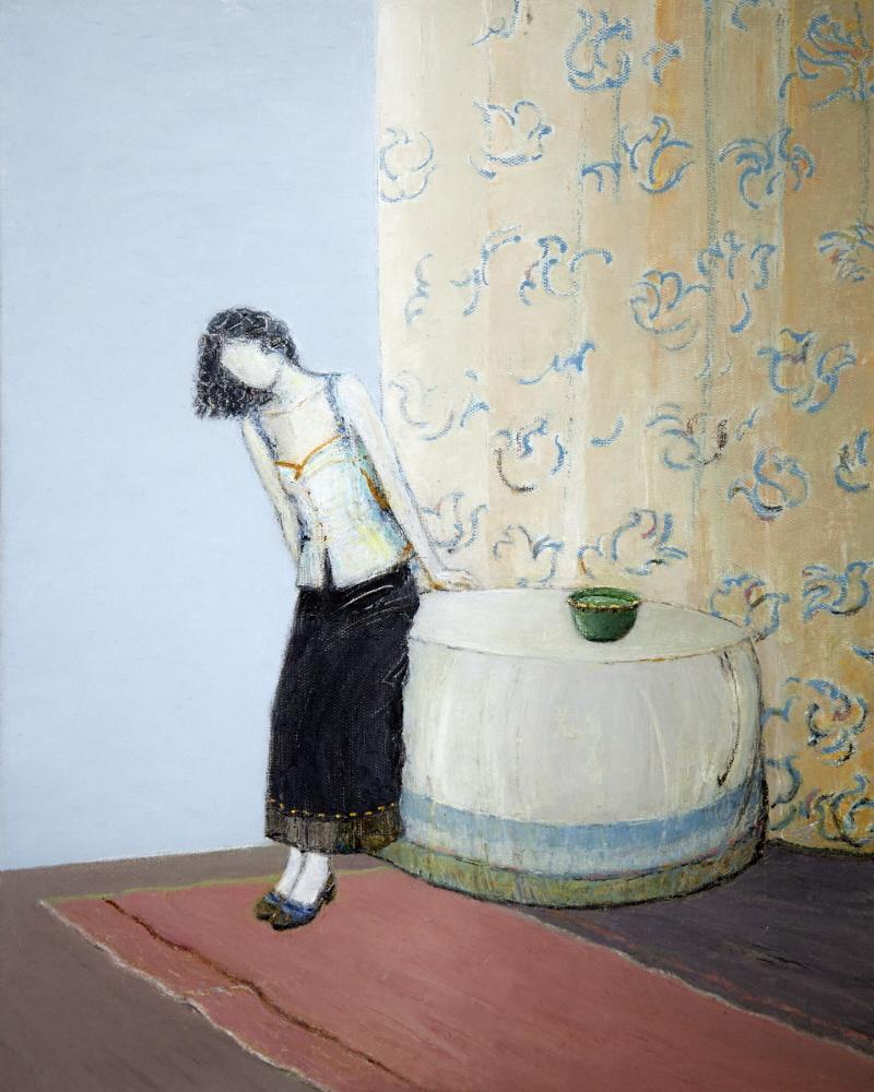 Daydream - Reverie, 2013, 40x50cm, oil on canvas - huile sur toile, sold - vendu