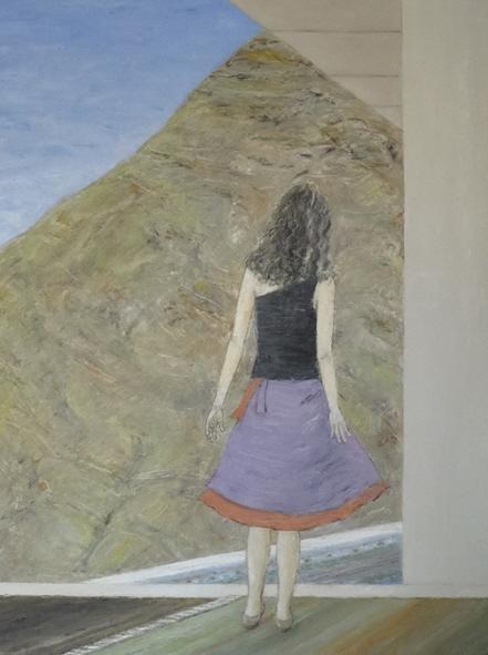 Leyla, 2010, 50x70cm, oil on canvas - huile sur toile