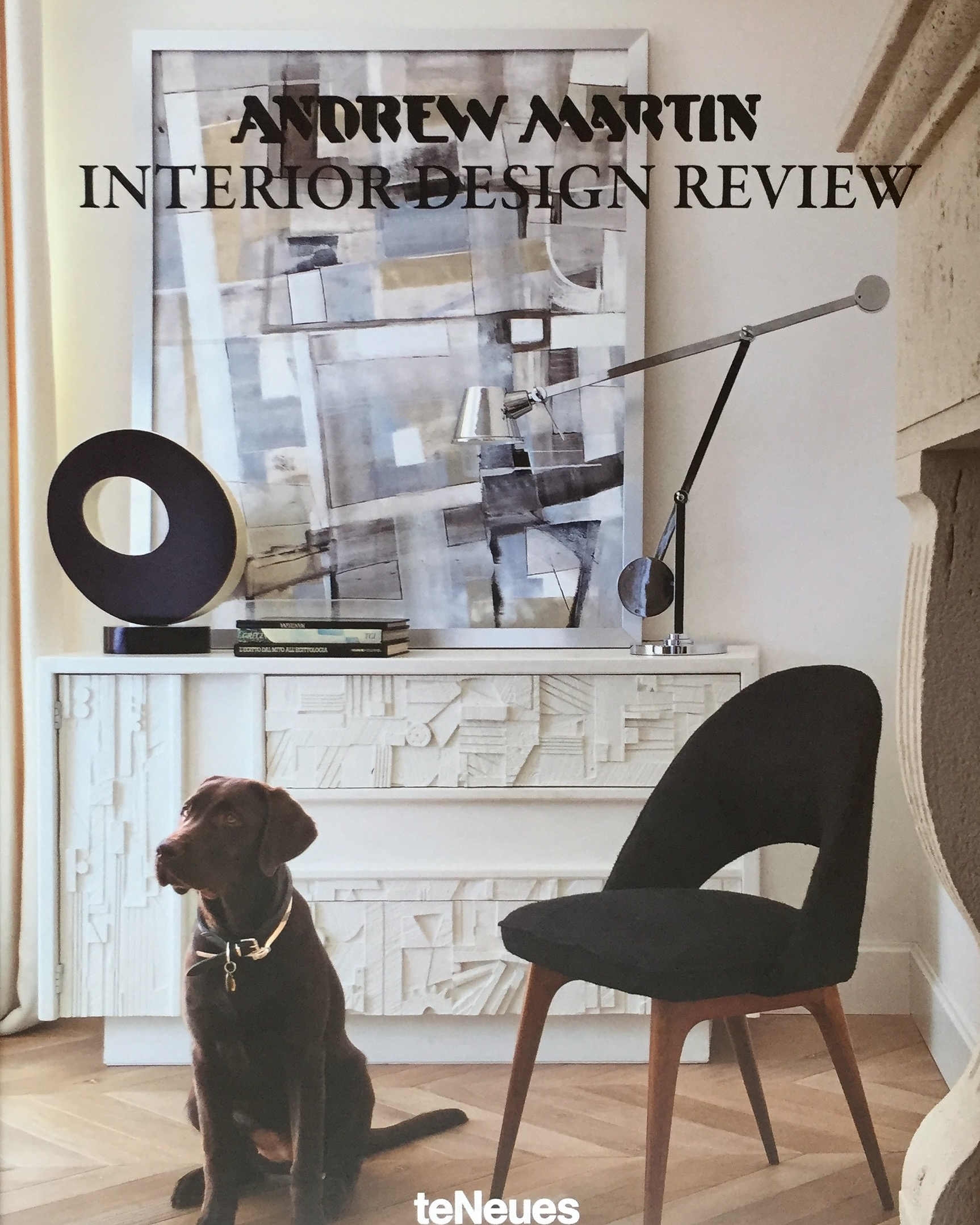 The cover of the 2016  Andrew Martin Interior Design Review, Volume 20 .