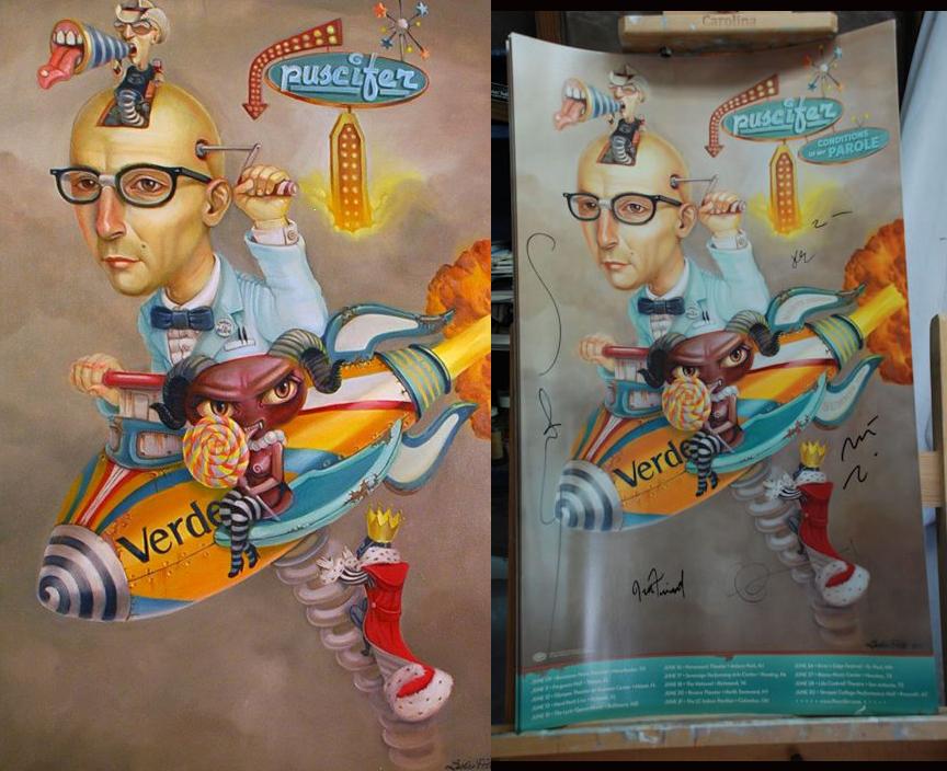 Puscifer Tour Poster