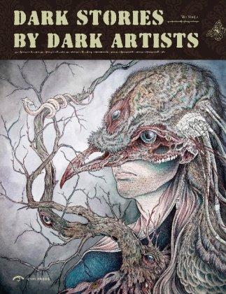 Dark Stories by Dark Artist    cover art by Caitlin Hackett