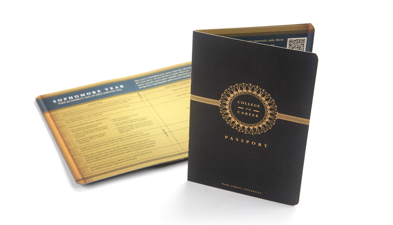 STUDENT PASSPORT  Each newly enrolled student receives this passport to help guide them successfully through each year of college and into their prospective career.   Brochure