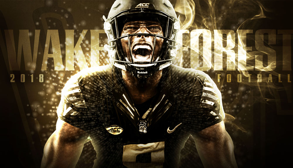 Wake Forest Athletics Concept. Agency: Wildfire