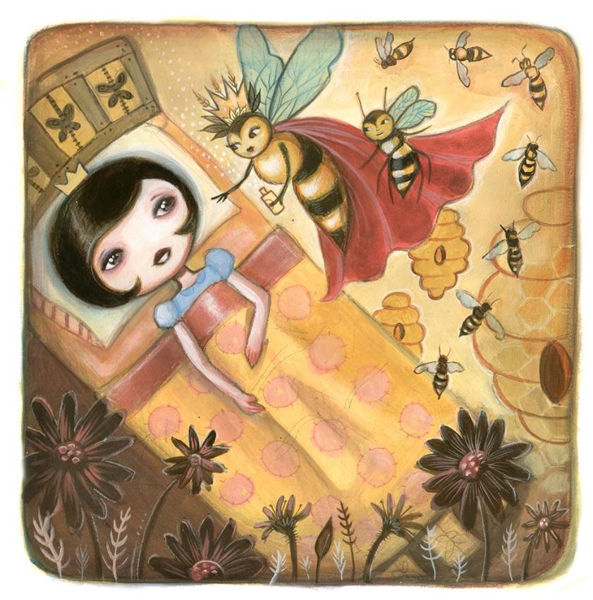 Princess La La & the Little Bee